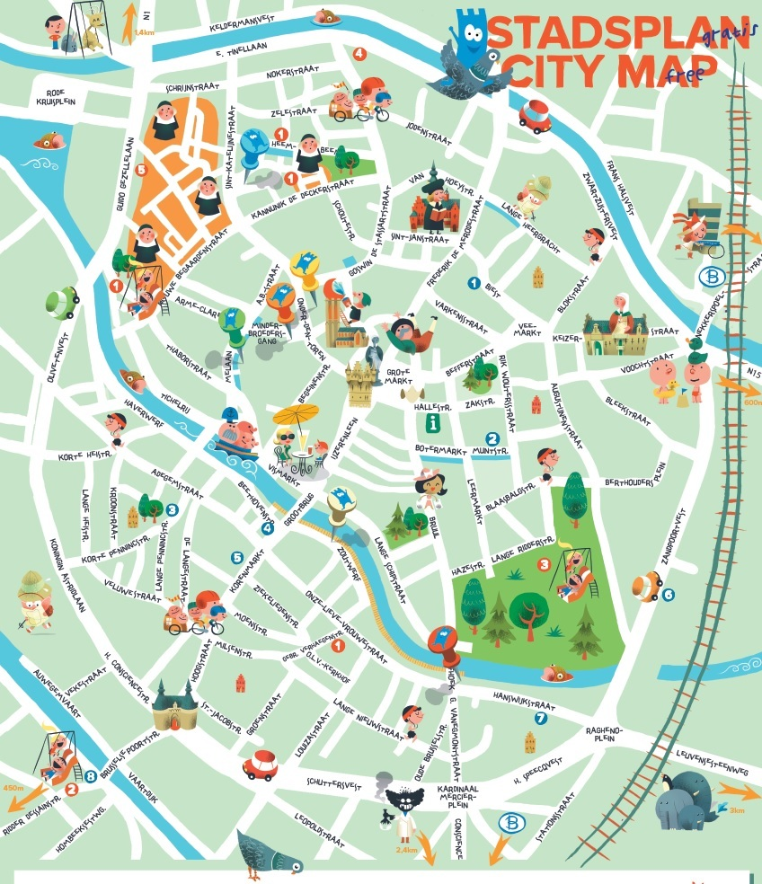 City Map for Families